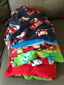 Boys 2T-3T fleece footie PJ's- $20