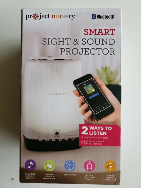 Project Nursery Sight & Sound Projector with Bluetooth Free Shipping!