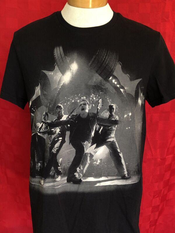 PERFECT U2 360° live 2011 black concert tour T-shirt Large Bono Rock Pop
