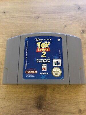 Toy Story 2 Nintendo N64 PAL UKV Tested UK Seller