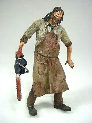 NECA Cult Classics Texas Chainsaw Massacre Leatherface Horror Action Figure Toy Action Figure Chainsaw