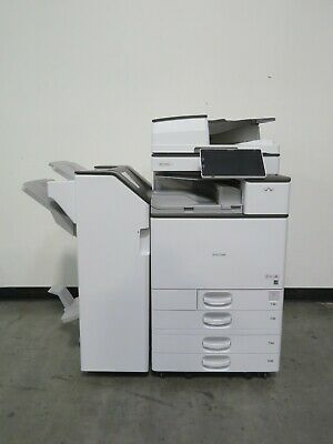 Ricoh MPC6004ex C6004ex color copier printer scanner  Only 134K meter for sale  Shipping to Nigeria