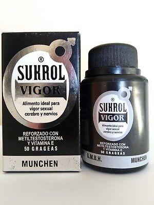 SUKROL VIGOR MAN 50 TABS DIETARY SUPPLEMENT SUKROL MEN HOMBRE 50 TABLETAS SEX  3