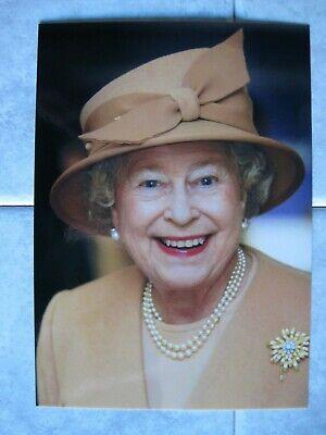 Karte Königin Elizabeth von England