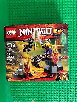 Lego Ninjago 70753 Lava Falls - New In Box