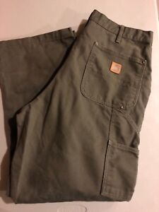 Carhartt Double Knee Heavy Duty Work Pants 36x30