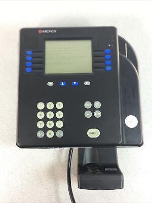 Kronos 4500 Badge Time Clock 8602800-503 Expanded Memory Wfingerprint - Tested