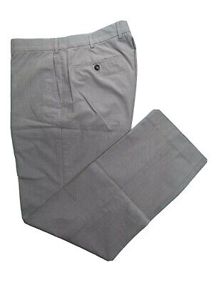 EXC COND Ermenegildo Zegna by Incotex Beige Cotton Trousers Size 34 x 32 Classic