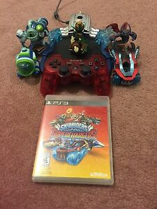 Sky landers supercharger's PS3 with a remote