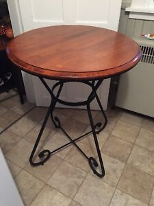 New Price (moving need gone) - bistro table and chairs - $80