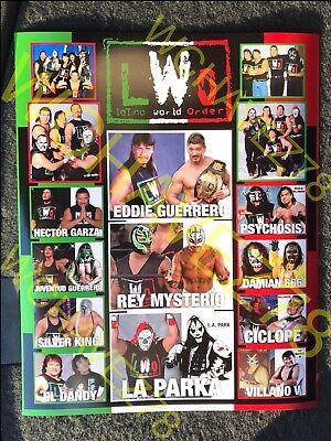Wwe Rey Mysterio Poster (LWO Latino World Order Poster, WCW, WWE, Eddie Guerrero, Rey Mysterio,)