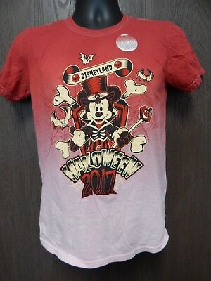 Disneyland Resort 2017 Halloween Mickey Mouse Kids Small T-Shirt New With Tags](Disneyland Halloween 2017)