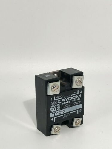 NEW CRYDOM TD1210 SOLID STATE RELAY