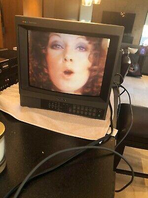 Sony Trinitron Color Video Monitor PVM-1341