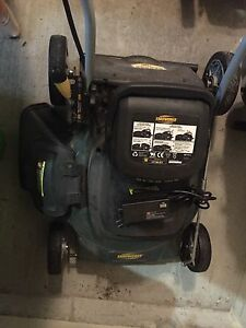 Lawnmower, just needs new battery