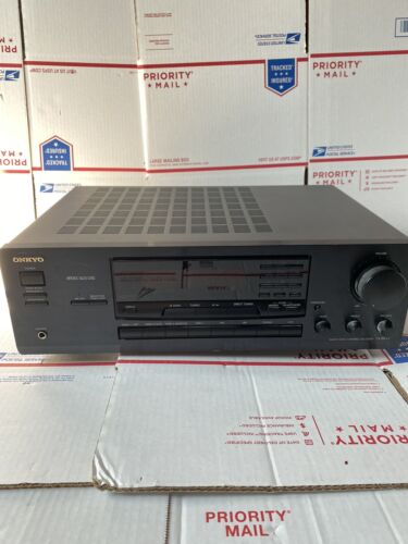 Onkyo TX 8511 2 Channel Home Theater Receiver Tested No Remote  - $89.99
