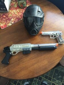 Air soft and mask