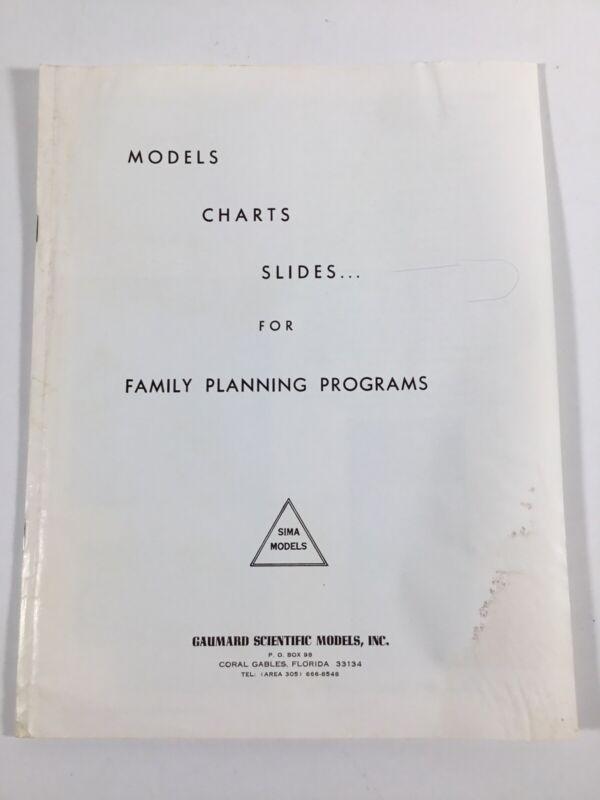 Vintage 1971 Gaumard Scientific Models SIMA Brochure Equipment W/Prices
