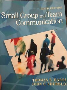 Small Group and Team Communication fifth addition