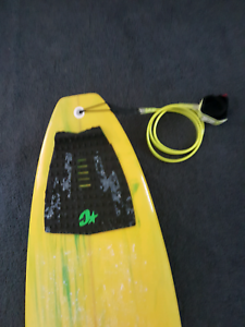 6ft 2in Surfboard with Leg Rope and Cover