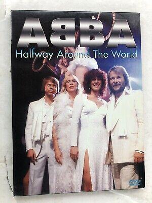 "ABBA ""Halfway Around The World"" Limited Digipak Edition- Super Rare Silver DVD"