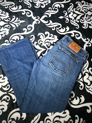 (Lucky Brand Jeans Dungarees Dream Jean Sz 27 A3)