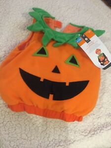 Baby Halloween pumpkin costume 6-12 month