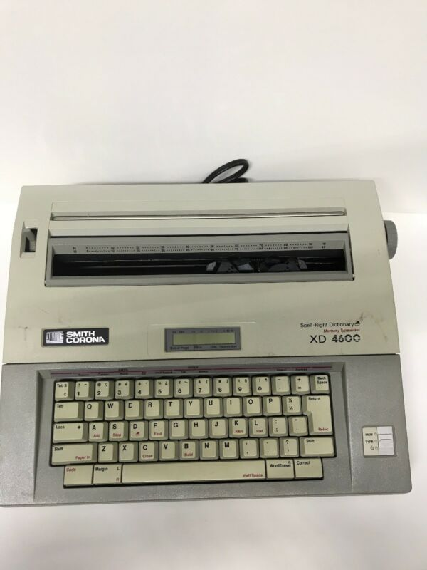 1989 Smith Corona Xd 4600 On The Typewriter Database