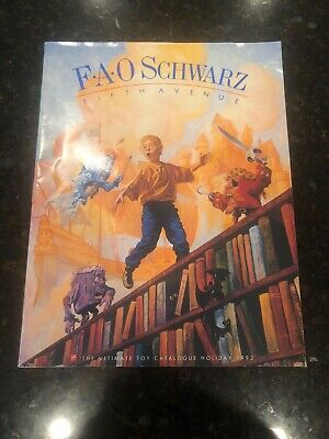 Vintage 1993 FAO Schwarz The Ultimate Toy Catalogue Lots Of Barbie Disney Steiff