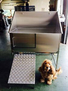 Dog grooming bath animal bath tubs ebay stainless steel dog grooming bath solutioingenieria Images