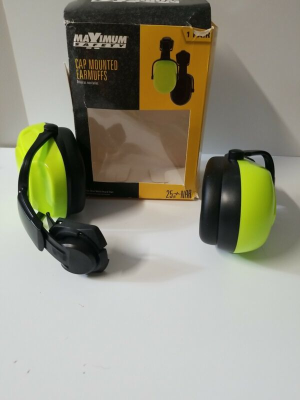 Cap Mount Ear Muffs From Maximum Safety ( damage packaging)