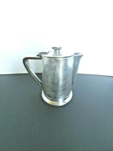International Silver Co. Antique Silver Plated Creamer