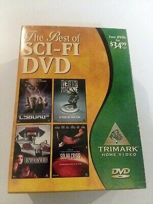 The Best of Sci-Fi DVD (DVD, 1999, 4-Disc