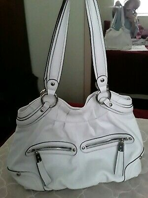 NEW, NEVER USED, B. MAKOWSKY TOTE LEATHER HANDBAG BEAUTIFUL