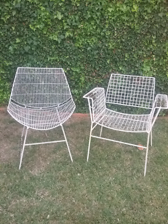Outdoor retro chairs