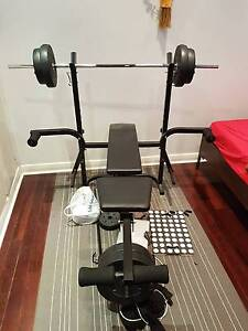 Gym bench press set for sale Fitzroy Prospect Area Preview