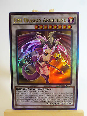 Proxy  Orica Custom Red Dragon Archfiend Art  1 Ultra Rare