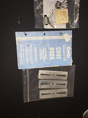 Curtis Model 15 Cam Set Assembly Code Cutter For Ford-1 And Ford-3 Carriage Book