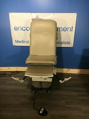 Midmark Ritter 222 Power Exam Table W Foot Control Paper Dowel. See Ad Below