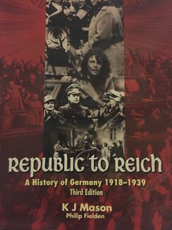 Republic to Reich Rowville Knox Area Preview