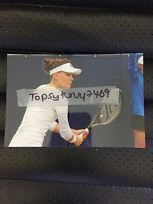 Agnieszka Radwanska Aga Tennis Photo Aegon Wimbledon 2017 6X4 Inch