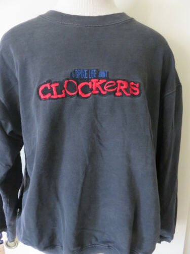 Vintage 1995 Clockers Spike Lee MCA Universal Promo Sweatshirt Shirt L Large