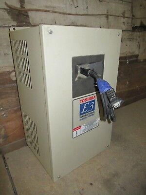 Toshiba Variable Speed Drive Hk30aa032 230v 7.5hp 24a 3 Phase Type 1