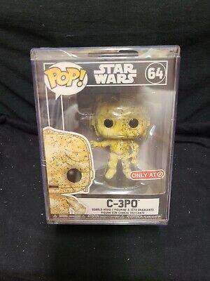 Funko Pop Star Wars #64 C-3PO Futura Target Exclusive