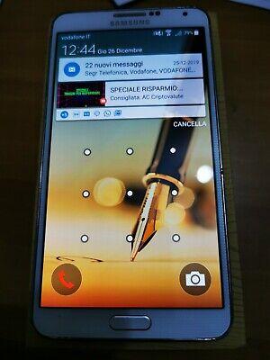 Usado, Galaxy note 3 usato ma in buone condizioni con box, pennino orig caricabatteria  comprar usado  Enviando para Brazil