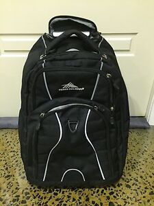 High Sierra wheeled backpack Beaumaris Bayside Area Preview