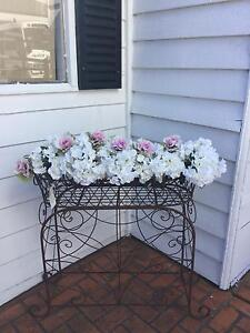 French Rustic Style Vintage Metal Jardiniere Plant Stand Richmond Hawkesbury Area Preview