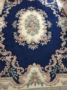 HAND KNOTTED CHINESE ORIENTAL RUG $700
