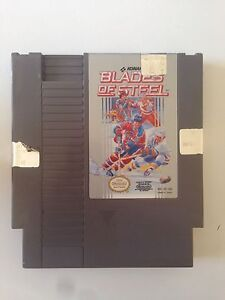 Blades of steel - NES nintendo  hockey game