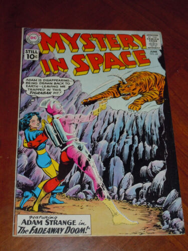 MYSTERY IN SPACE #68  (1961). VG-F (5.0) cond. EARLY ADAM STRANGE, INFANTINO art